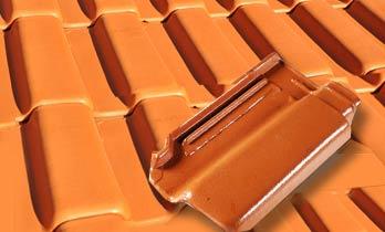Pintura de telhas ceramicas